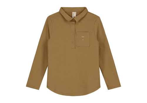 Gray Label L/S Polo Tee Peanut
