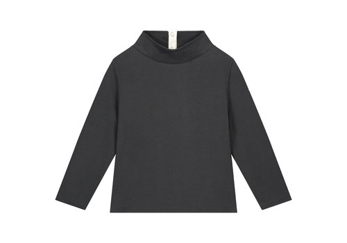 Gray Label High Neck Sweater Nearly Black
