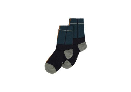 Soft Gallery MP Boys Socks Carbon, Balsam Green