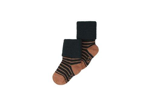 Soft Gallery MP Baby Boys Socks Jet Black, Stripe