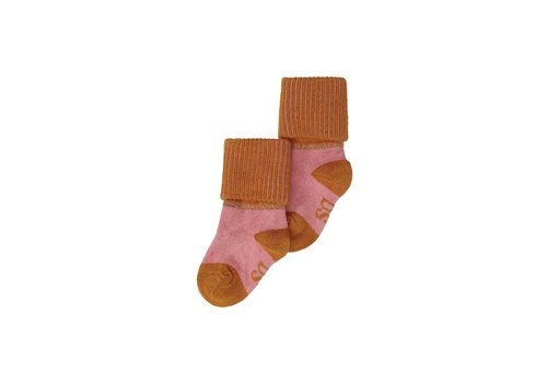 Soft Gallery MP Baby Girl Socks Rose Down, Thai Curry