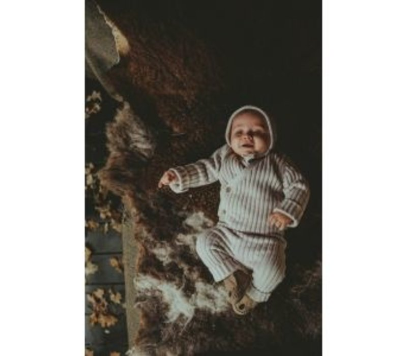 Fenja Baby Hat Beige Melange