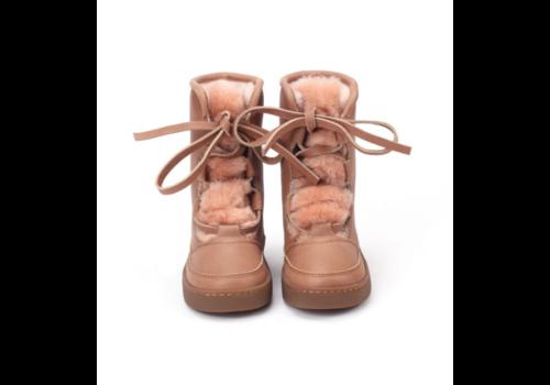 Donsje Sonny Lining Hazelnut Leather + Vintage Pink Sheep Wool