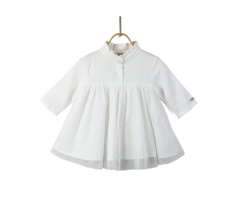 Fieke Dress Swan White