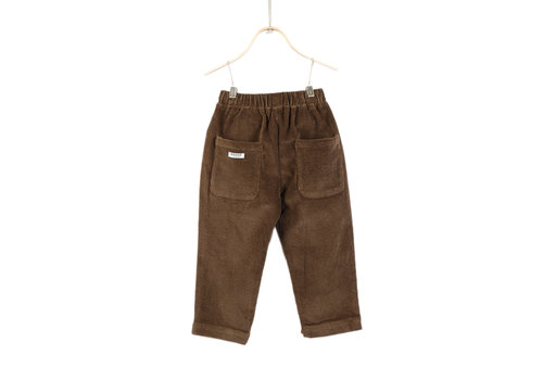 Donsje Bo Trousers Cocoa Brown
