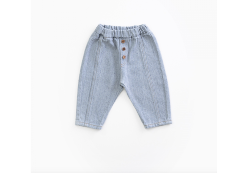 Play up Recycled Denim Trousers DENIM