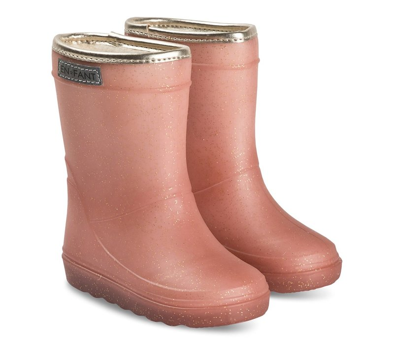 En-Fant Thermo Boots Metallic Rose