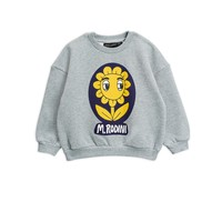 Flower sp sweatshirt Grey melange