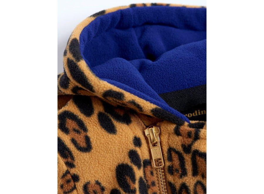 Fleece onesie Beige