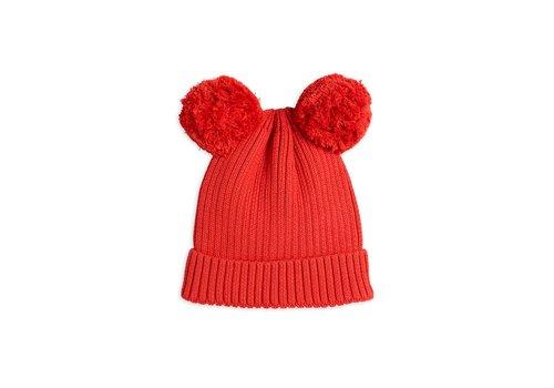 Mini Rodini Ear hat Red