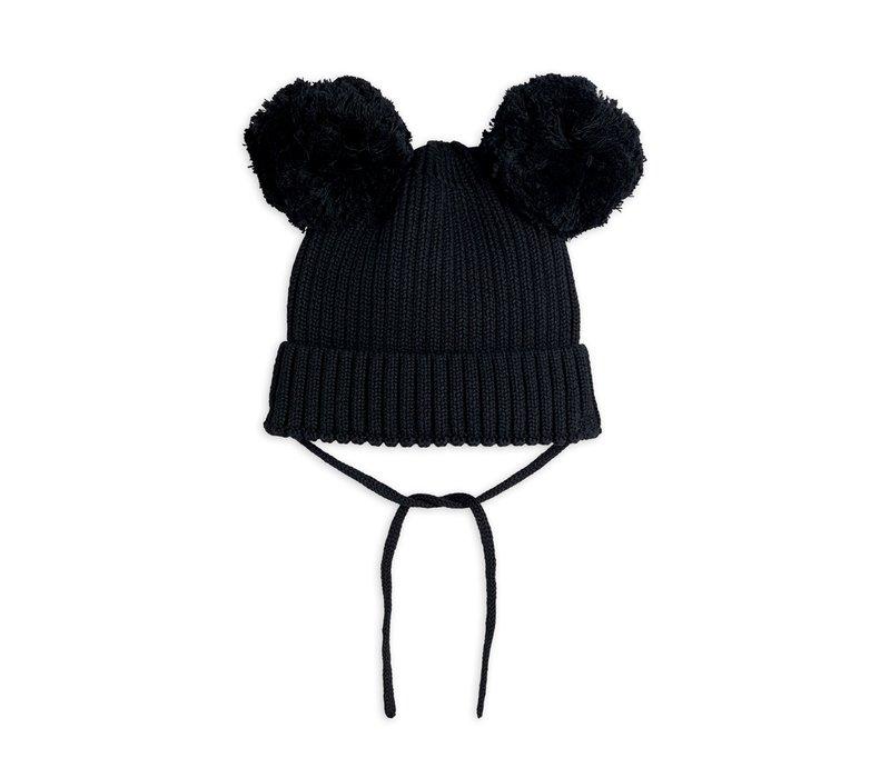 Ear hat Black