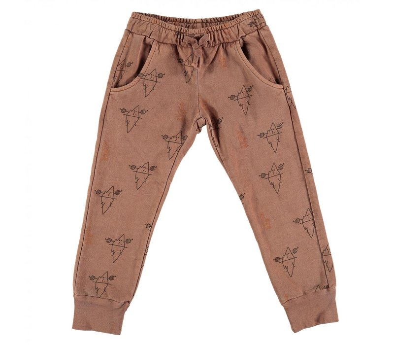 Baggy fleece trousers iceberg Wood