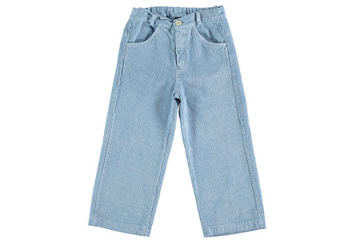 Bonmot organic Trousers corduroy everyday Arctic blue