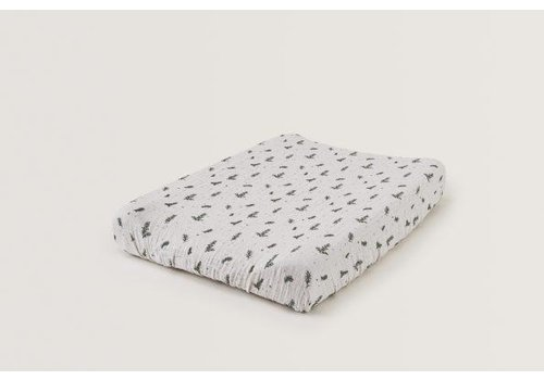 Garbo & Friends Rosemary Muslin Changing Mat Cover