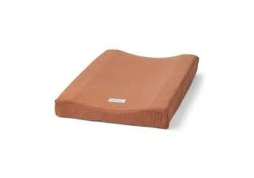Liewood Cliff muslin changing mat cover Terracotta