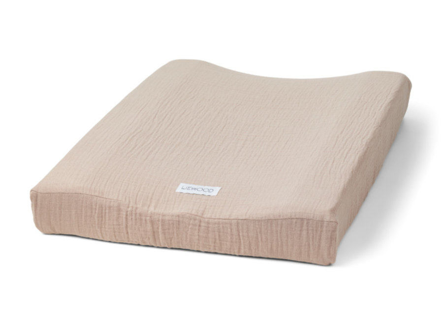 Cliff muslin changing mat cover Rose