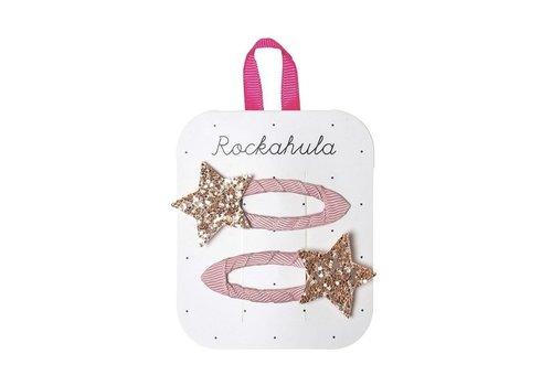 Rockahula Kids Star Burst Glitter Clips Pink