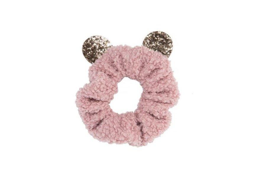 Billie Bear Boucle Scrunchie