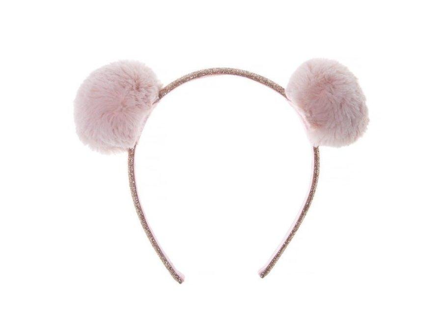Fluffy Pom Pom Headband