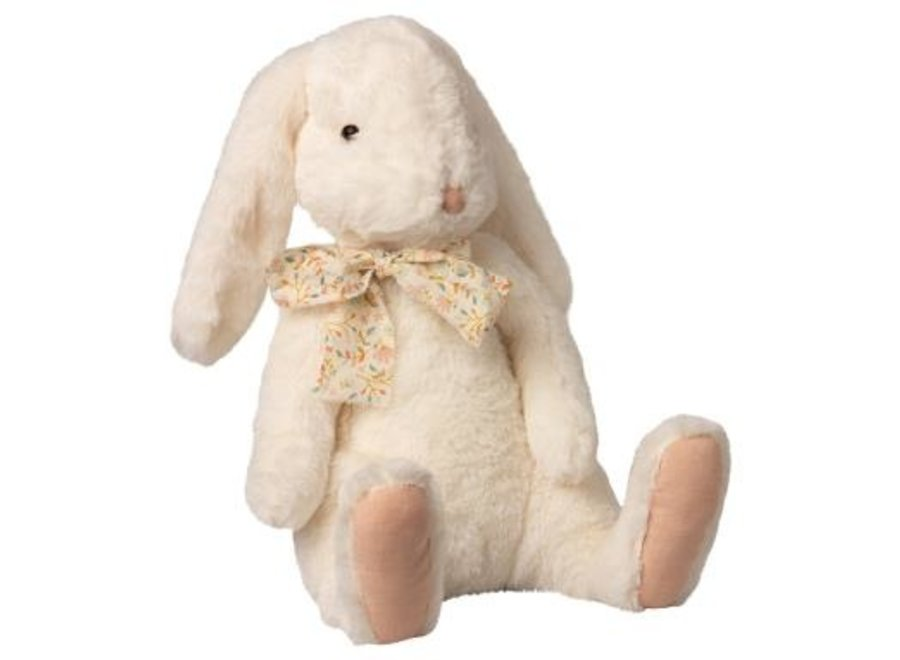 Fluffy bunny, X-Large - White