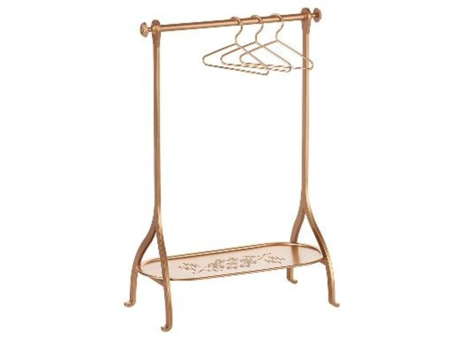 Clothes Rack - Gold, incl. 3 hangers