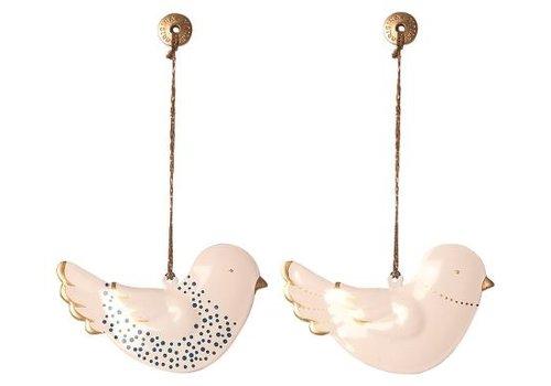 Maileg Metal ornament, Bird 2 pieces