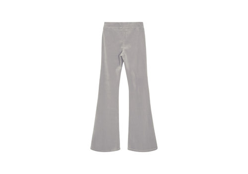 Designers Remix Girls Frances Flare Velour jersey flared pants Grey