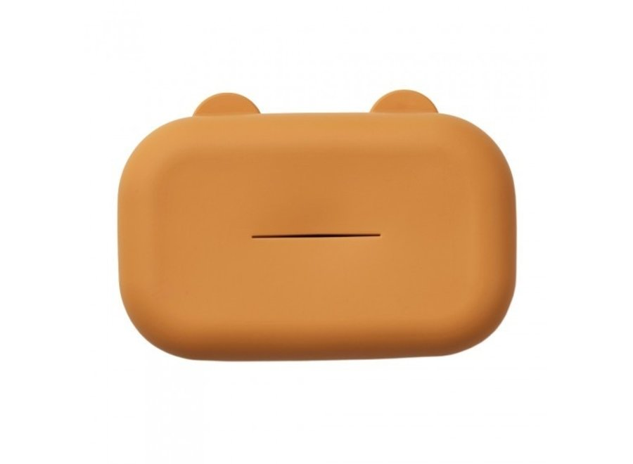 Emi wet wipes cover Mustard