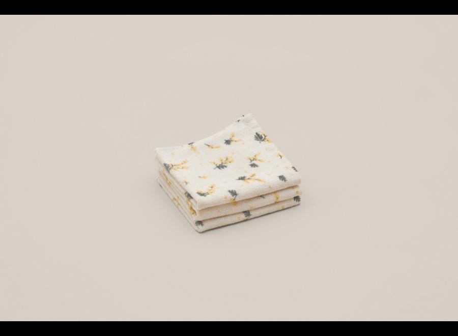 Face Towel 3 pcs Mimosa