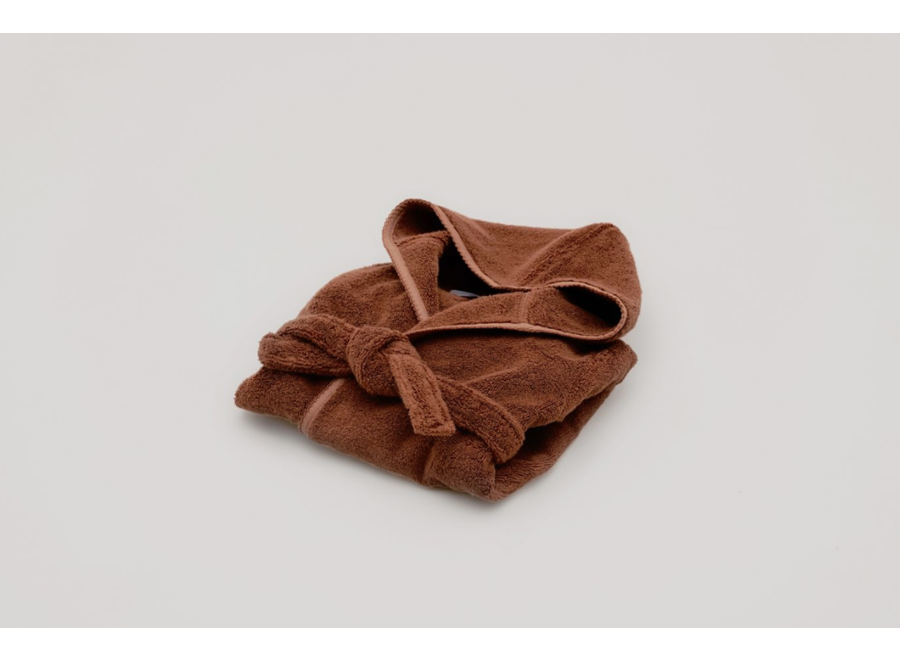 Bath Robe Cinnamon