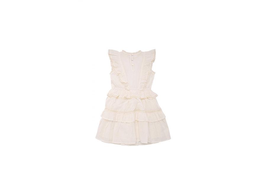 Antonia Dress Off White