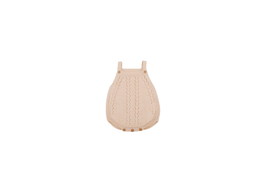 Alice  Baby Knit Romper Natural