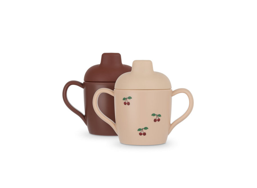 2 Pack Sippy Cup Cherry