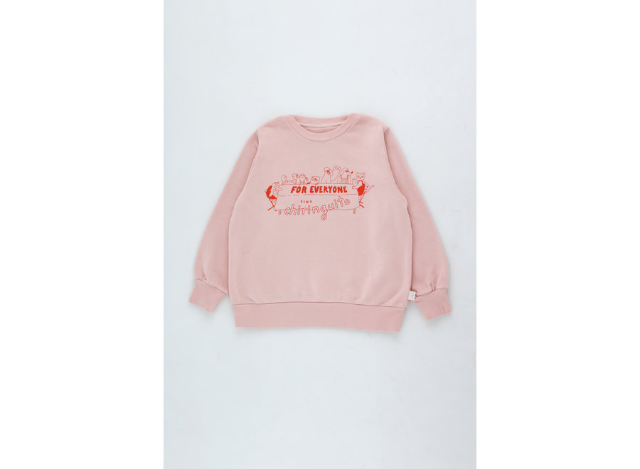 For Everyone Sweatshirt dusty pink/red