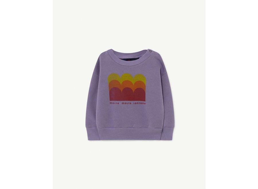 Bear Baby Sweatshirt Purple Molto
