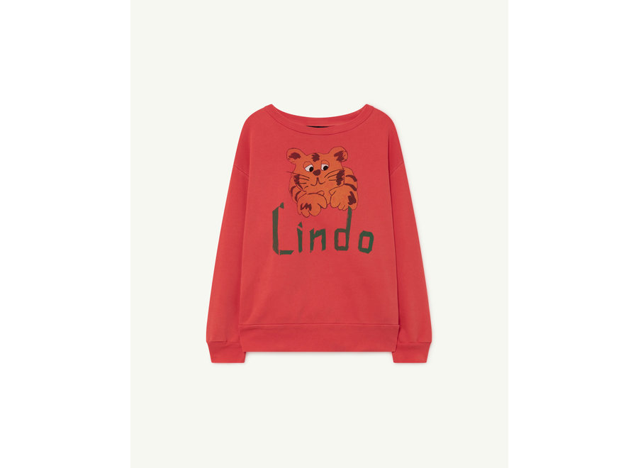 Bear Kids+ Sweatshirt Red Lindo