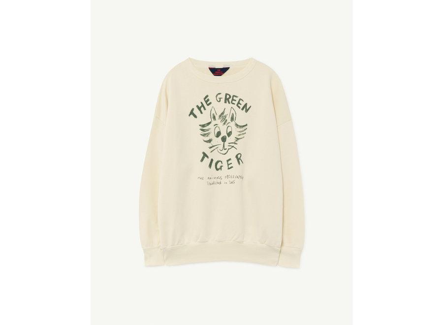 Big Bear Kids+ Sweatshirt White Tiger