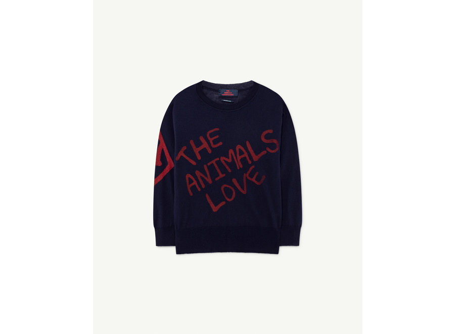 Bull Kids+ Sweater Navy The Animals