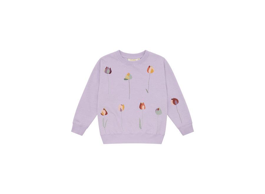 Baptiste Sweatshirt Lavender Frost