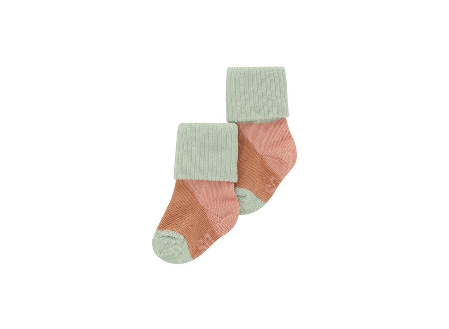 Baby Girl Socks Dewkist, AOP Candystripe