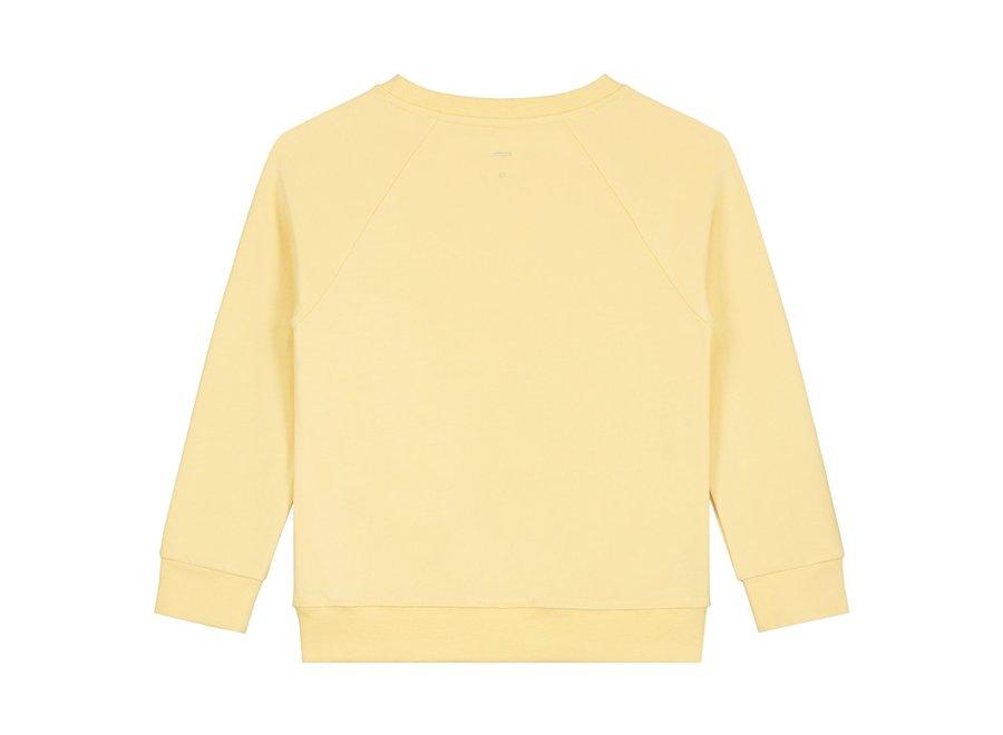 Crewneck Sweater Mellow Yellow