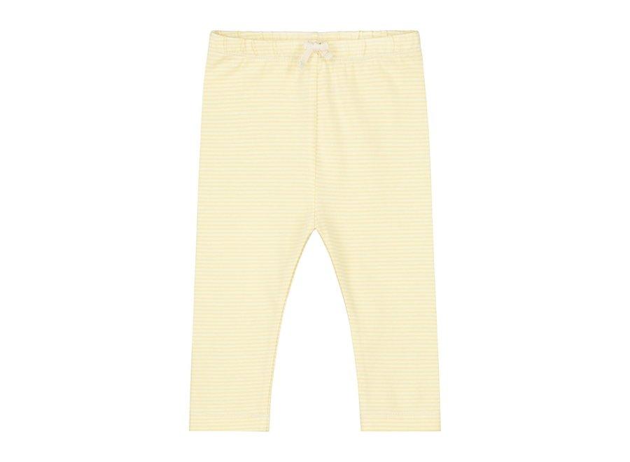 Baby Leggings Mellow Yellow/Cream