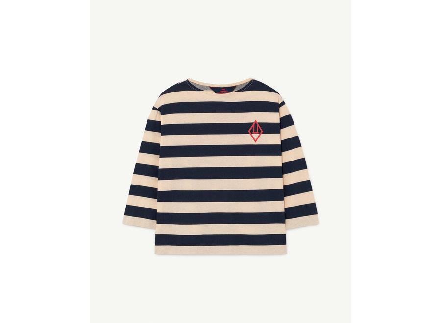 Anteater Kids+ T-Shirt Peachy Stripes