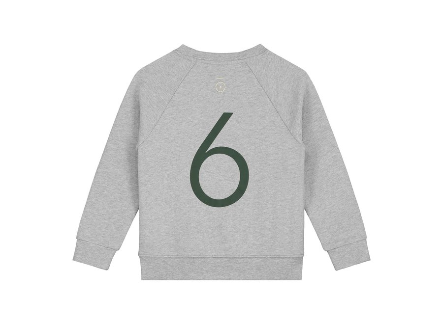 Anniversary Sweater Grey Melange number 6