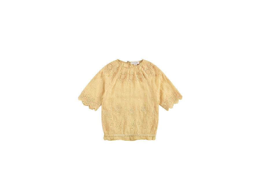 Blouse Lina Soft Honey Plumetis