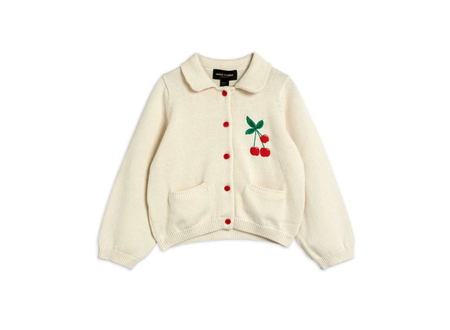 Cherry Cardigan Offwhite