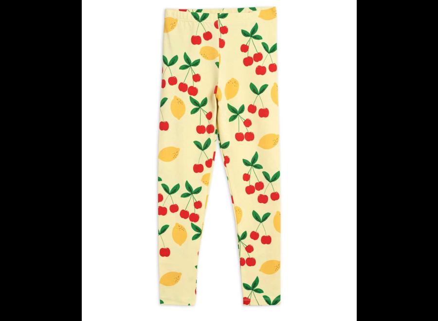 Cherry Lemonade Aop Leggings Yellow