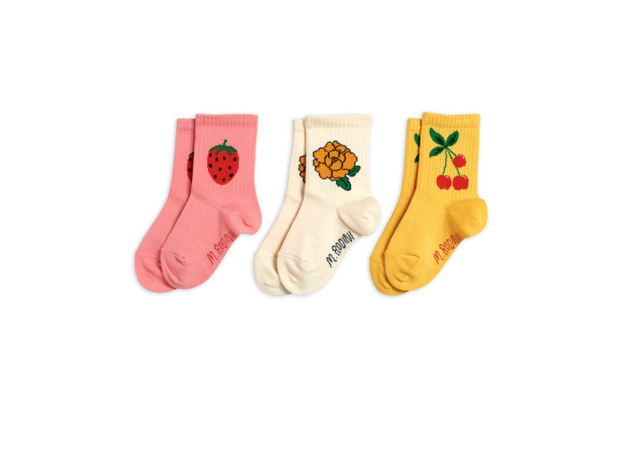 Cherry And Co 3 Pack Socks Multi