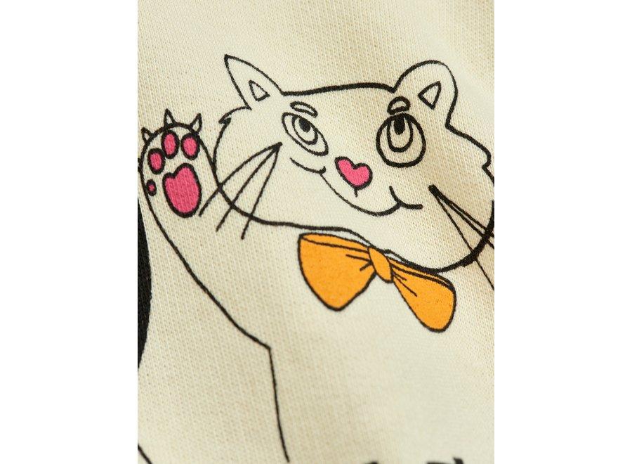 Cat And Panda Sp Sweatshirt Offwhite