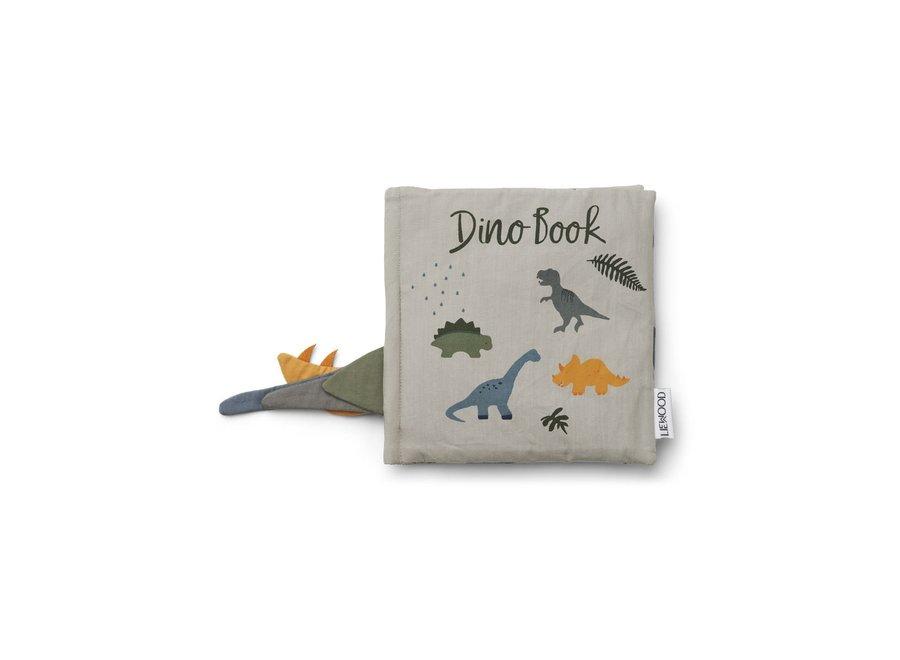 Dennis Dino Book - Dove blue mix